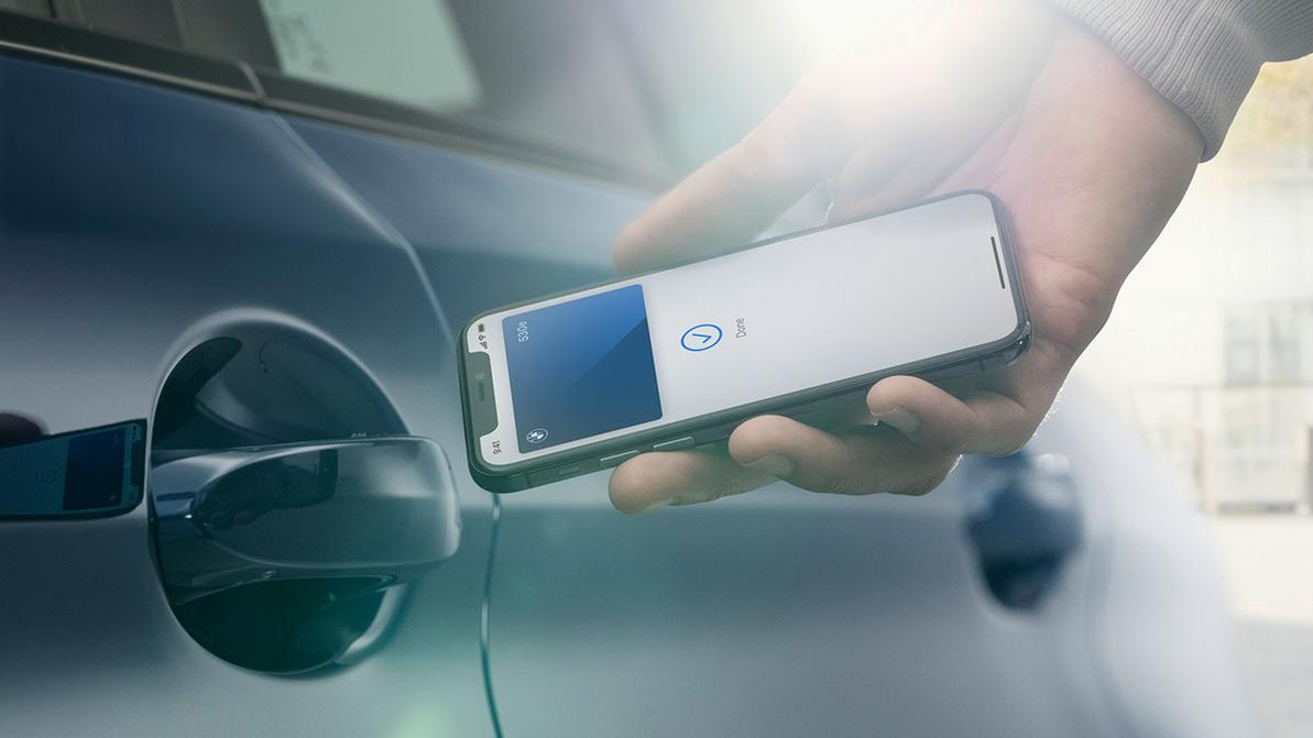 iPhone вместо ключа от автомобиля
