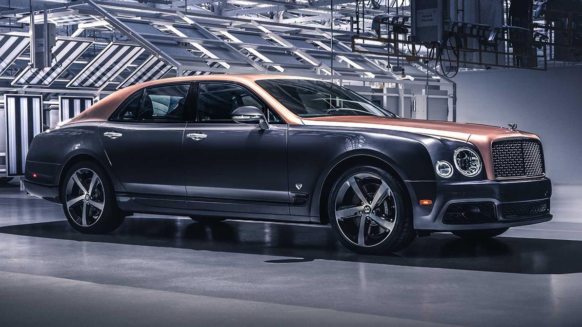 Собран последний Bentley Mulsanne