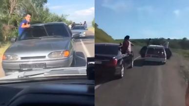 Выпускники продолжают веселиться на дороге