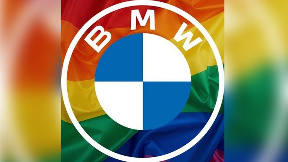 Компания BMW сменила логотип-аватар в соцсетях в поддержку ЛГБТ-сообщества