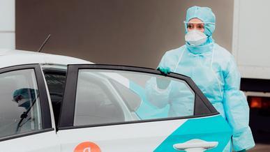 Корона-такси могут запустить в Казахстане