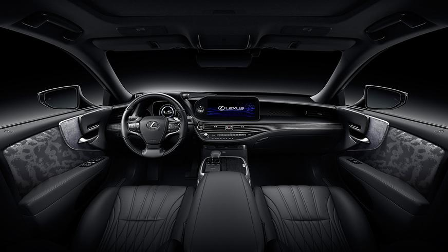 Седан Lexus LS обновился