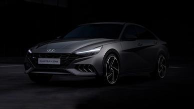В Hyundai рассекретили внешность Elantra N-Line