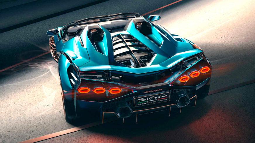 Представлен открытый Lamborghini Sian