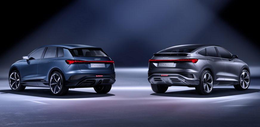 Дебют Audi Q4 Sportback e-tron