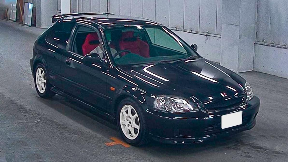 20-летний Honda Civic продали за 71 тысячу долларов