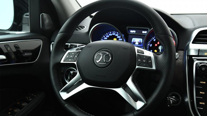 Китайский Mercedes GL пошёл в серию спустя пять лет