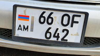 На армянские номера ополчились теперь и в России