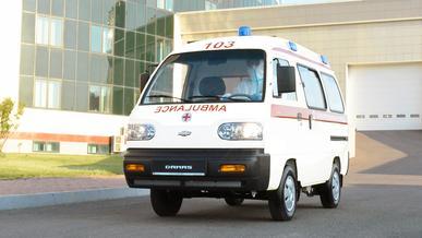 Chevrolet Damas будет работать в скорой помощи