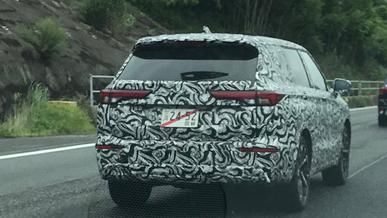 Новый Mitsubishi Outlander засекли на испытаниях