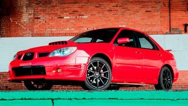 Продаётся Subaru из к/ф «Малыш на драйве»