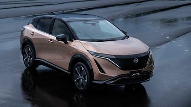 Nissan показал серийный электромобиль Ariya