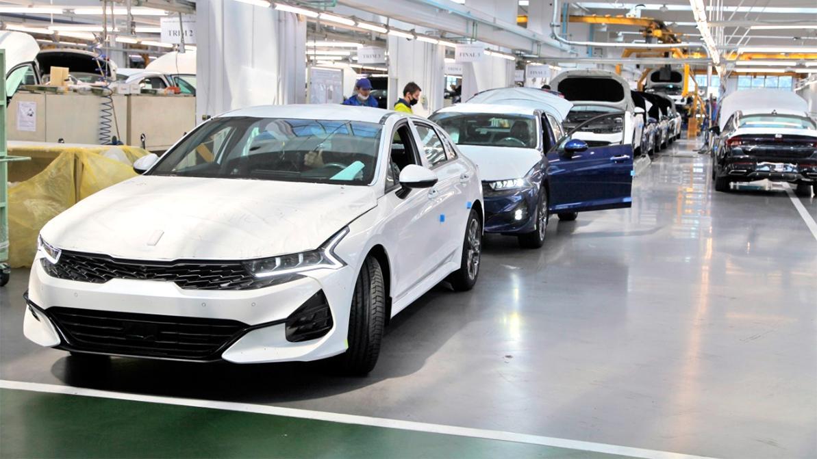 Развернулось российское производство Kia K5