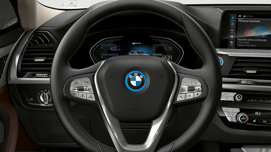 BMW презентовала серийный электрический X3