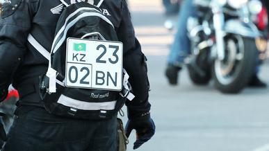 Проблему нехватки номерных знаков для мотоциклов в Алматы устранили