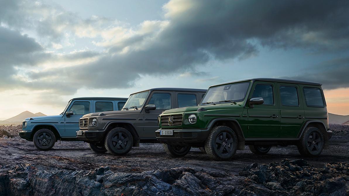 Mercedes-Benz G-Class получил новые цвета и «пустынный» режим