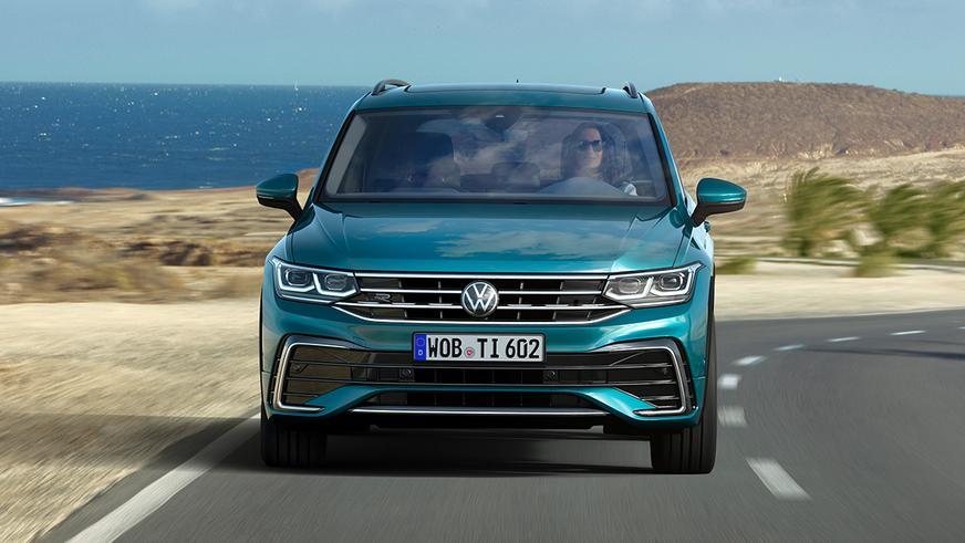 Сколько будет стоить обновлённый Volkswagen Tiguan в Казахстане