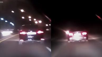 Погоня за угонщиком Toyota Camry попала на видео
