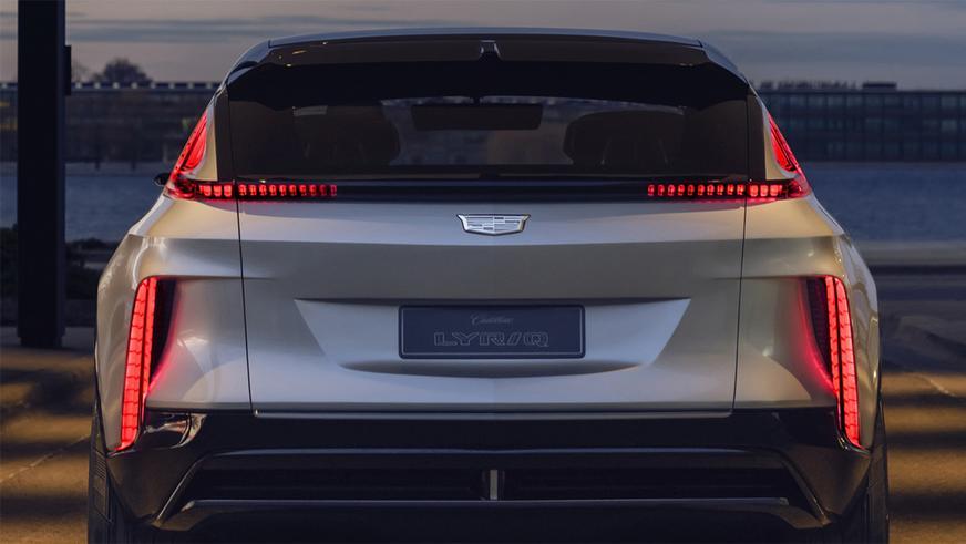 А вот и Cadillac Lyriq!
