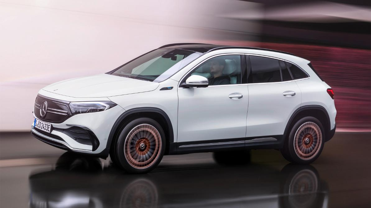 Mercedes-Benz EQA как GLA, но без ДВС