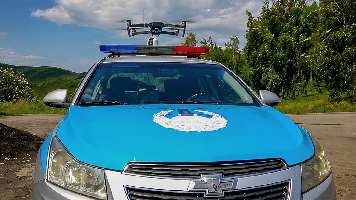 Лишить прав с воздуха: дрон контролировал трассу в ВКО