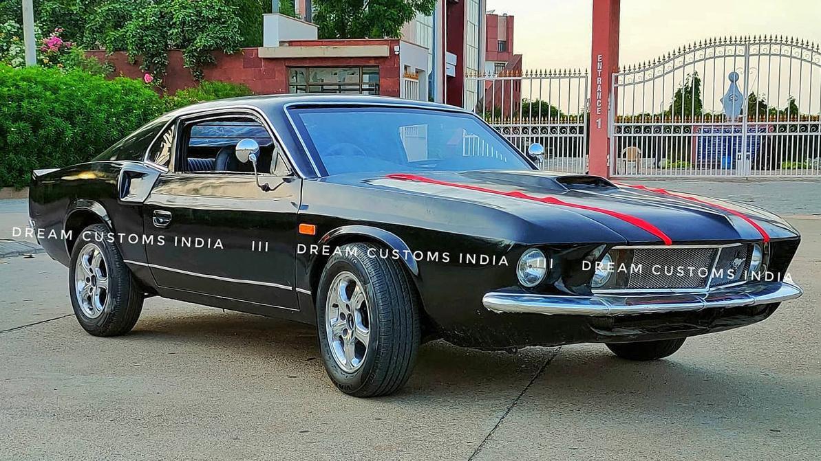 В Индии сделали Mustang из Hyundai Accent
