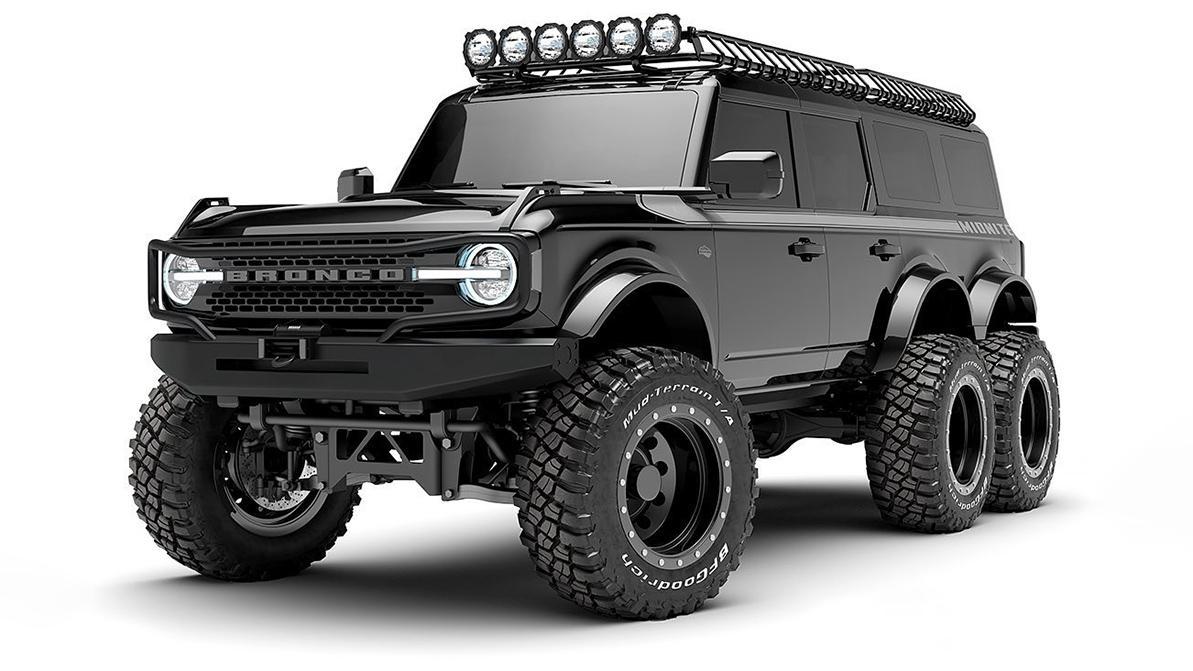 Анонсирован Ford Bronco 6×6