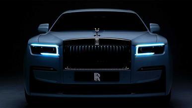 Электромобиль Rolls-Royce назвали «Безмолвная тень»