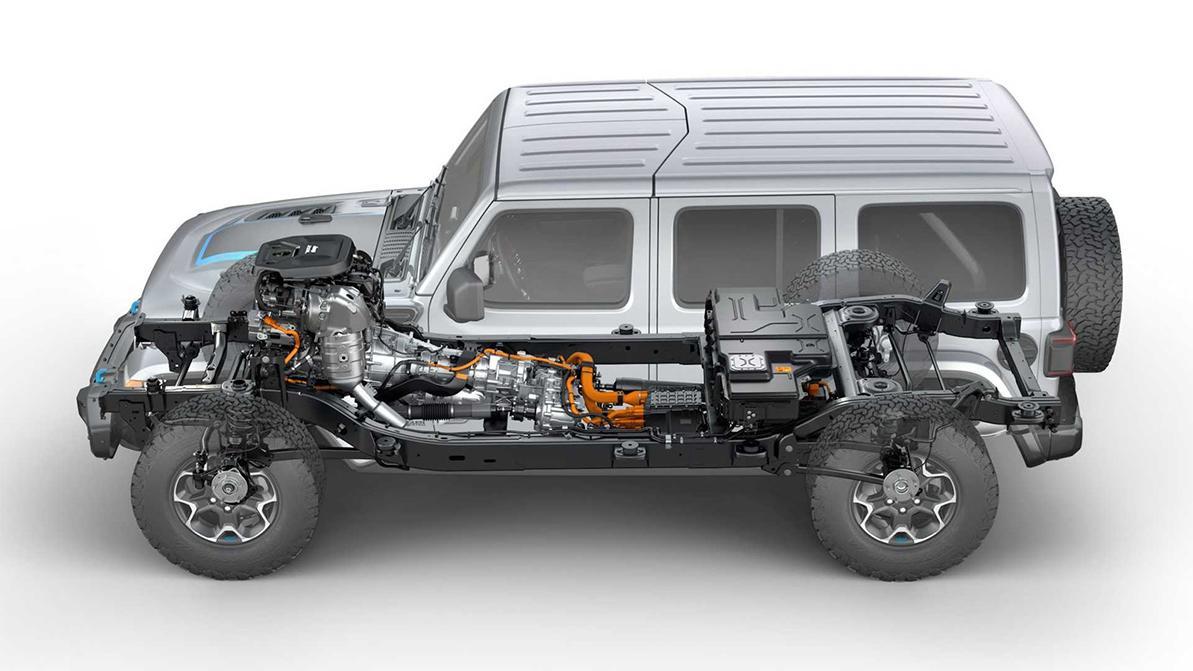 Дебютировал гибридный Jeep Wrangler 4xe