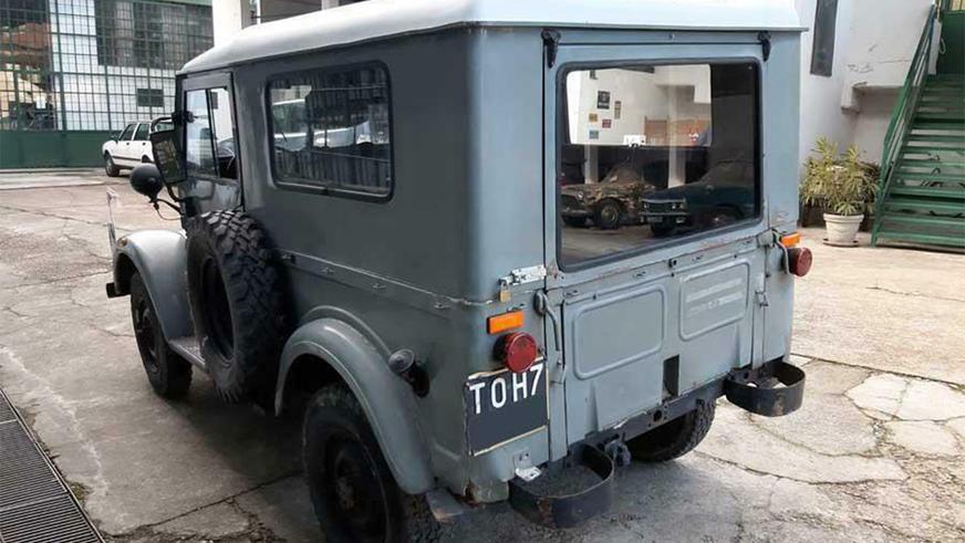 В Италии продаётся ГАЗ-69 с чужой начинкой