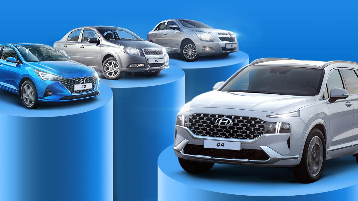 Продажи новых авто в Казахстане в апреле. Hyundai Santa Fe в топ-5