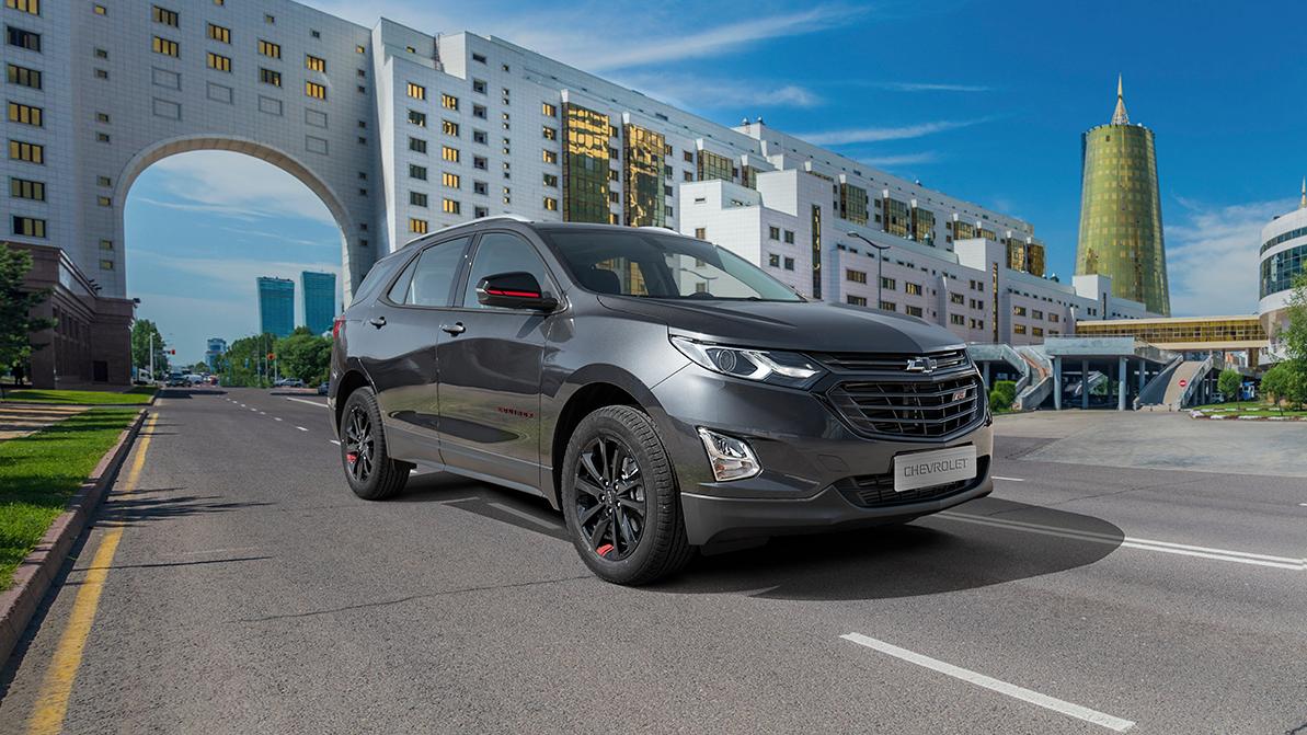Линейка Chevrolet в Казахстане пополнилась кроссовером Equinox