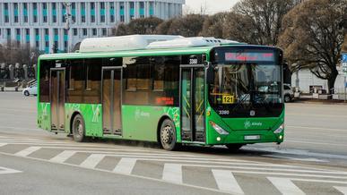Общественный транспорт не будет ходить в Алматы 13 и 14 марта