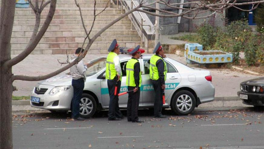 Автопарк полиции в Казахстане: вчера и сегодня