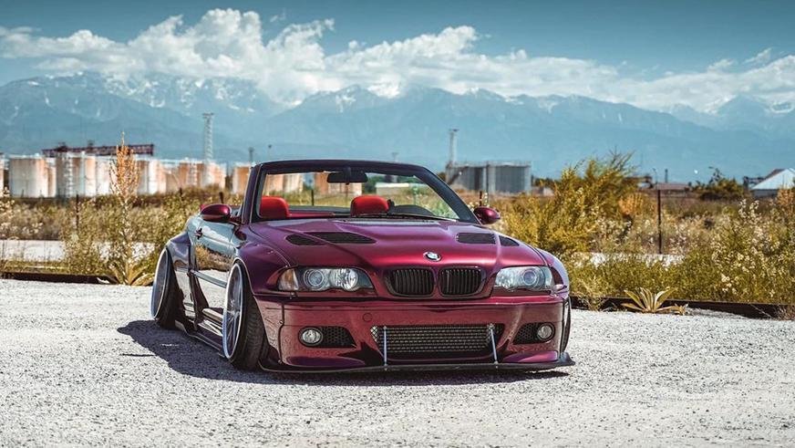 Низкая BMW с японским сердцем в продаже на Kolesa.kz