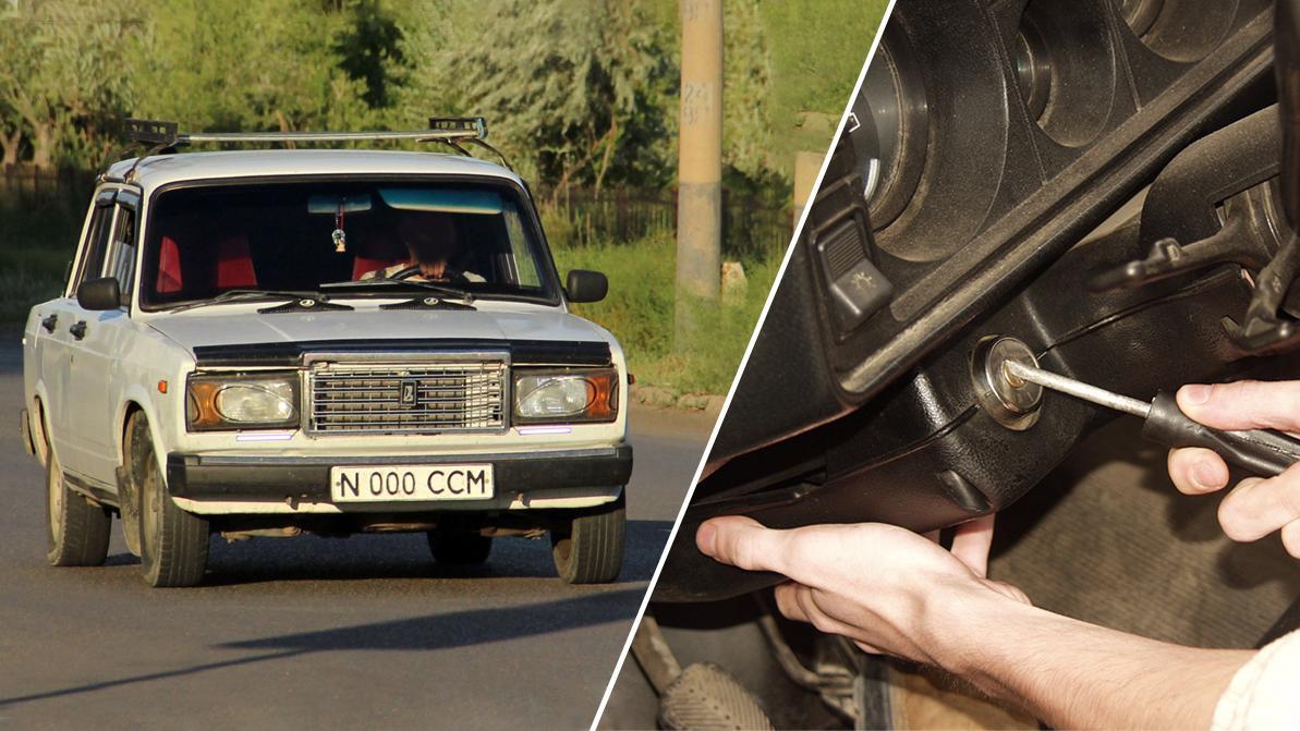 Свою машину со штрафстоянки угнал мужчина в Кызылординской области