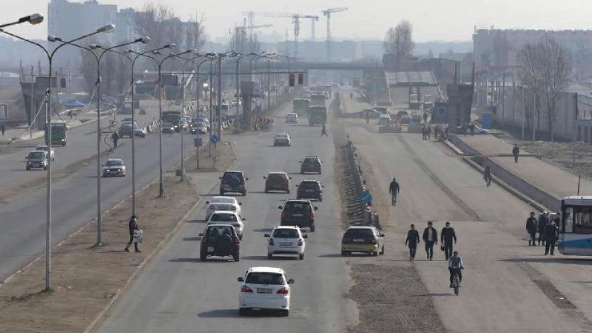 Закончить дорожные работы возле «Алтын Орды» в этом году поручил президент