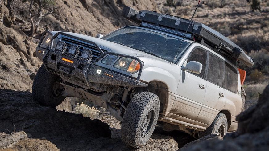 Экспедиционник из Lexus LX: такого в Казахстане не встретишь