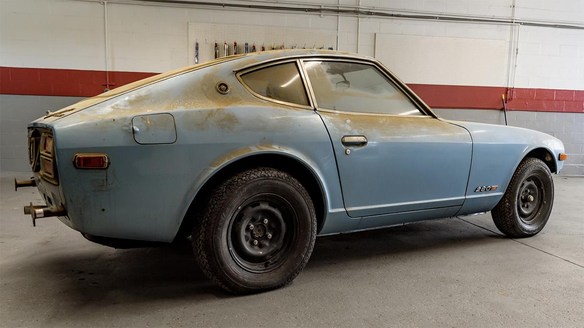 Datsun 280Z: помыться через 44 года