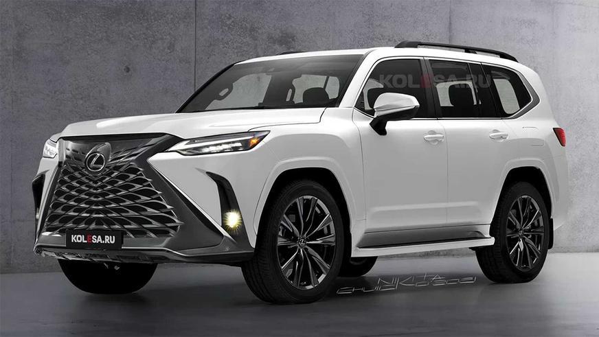 Новый Lexus LX замечен на тестах