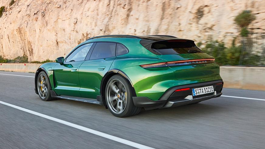 Универсал Porsche Taycan Cross Turismo представлен официально