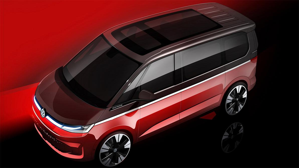 Новый VW Multivan покажут через месяц