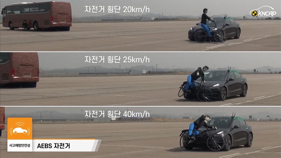 Электроника Tesla Model 3 не справилась с тестами в Южной Корее