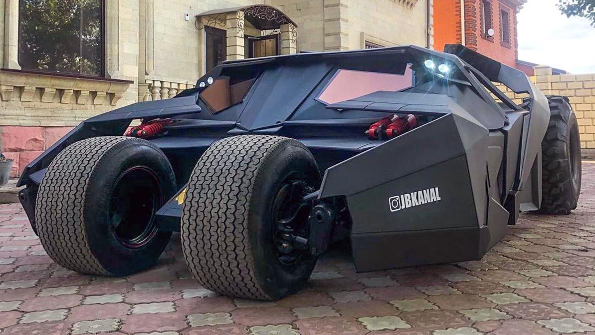 Бэтмобиль из Темиртау