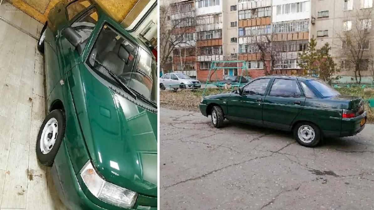 Почти новый ВАЗ-2110 выставили на продажу на Kolesa.kz
