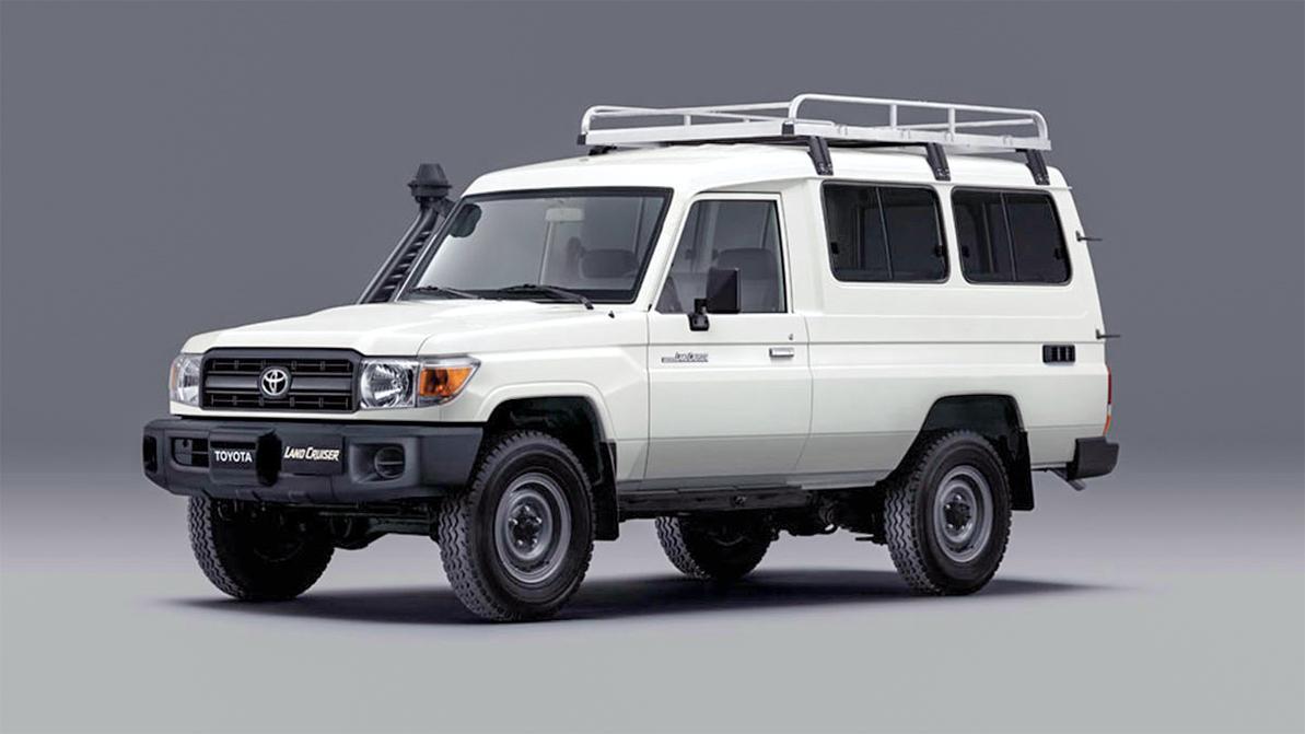 Для перевозки вакцин в труднодоступных местах будут использовать Toyota Land Cruiser 70