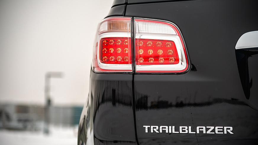 Ещё внедорожник Chevrolet Trailblazer