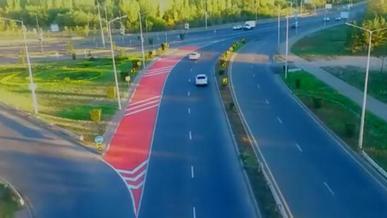 Красную разметку начали рисовать в Алматы и Нур-Султане