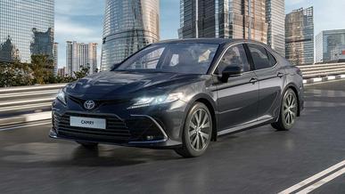 Обновлённая Toyota Camry для Казахстана: новые моторы и вариатор
