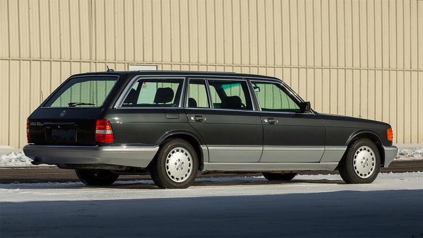 Mercedes-Benz W126: кабриолет и универсал